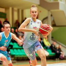 Moterų krepšinio rinktinės sudėtyje – J. V. Jocytė