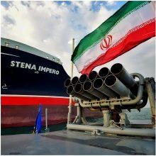 Irane sulaikyto tanklaivio savininkė užmezgė ryšį su įgula