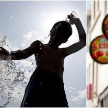 Belgijoje užfiksuotas rekordinis 41,8 laipsnio karštis