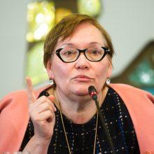 A. Maldeikienė apie Ekonomikos gaivinimo planą: yra supratusių, kad koja durų atidarinėti negali