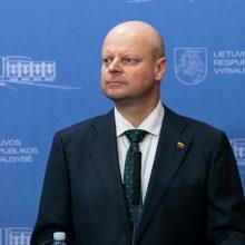 Premjeras: reikia mažinti Baltarusijos energetinę priklausomybę nuo Rusijos