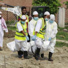Bangladeše nuo COVID-19 mirė pirmas pabėgėlis rohinjas