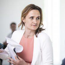 V. Čmilytė-Nielsen: tikimės iki vienuolikos mandatų Seime