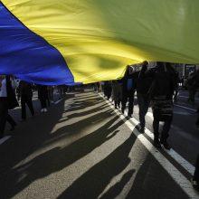 Ukraina pareiškė protestą Rusijai dėl konsulato Sankt Peterburge darbuotojo užpuolimo