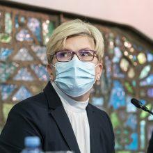 Premjerė su ministrais aptars kitų metų biudžetą ir pandemijos valdymo planus