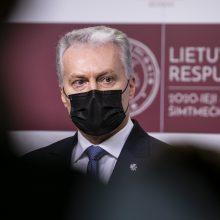 G. Nausėdos atstovas: iš G. Landsbergio prezidentas tikėtųsi užsienio politikos tąsos