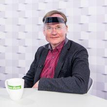 """""""Kauno dienos"""" studijoje – naujasis Kauno valstybinio choro vadovas R. Šervenikas"""
