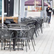 Policija: atsidarius kavinėms karantino pažeidimų kol kas nepadaugėjo