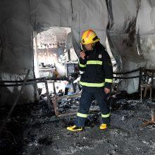 Per gaisrą Kinijos kovos menų mokykloje žuvo 18 žmonių, 16 sužeista