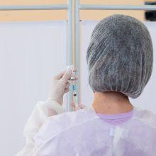 Bent viena vakcinos nuo COVID-19 doze paskiepyta beveik penktadalis Lietuvos gyventojų