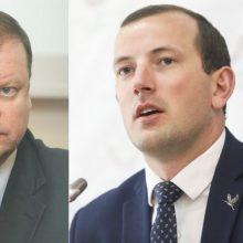 S. Skvernelis ir V. Sinkevičius sprendimą šalinti T. Tomiliną iš partijos vadina keistu