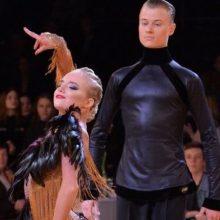 Įtampos kupinos dienos jauniesiems šokėjams baigėsi Europos čempionato finalu