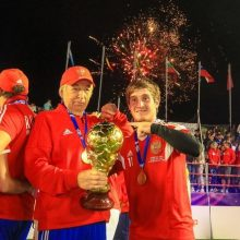 Rusija – naujoji mažojo futbolo pasaulio čempionė