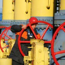 """""""Gazprom"""" dujų tiekimo Baltarusijai sutartį pratęsė iki šių metų pabaigos"""