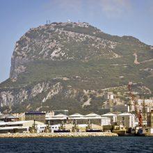 Gibraltare sulaikytas tanklaivis, galimai gabenęs naftą Sirijai