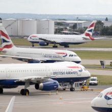 Londono Hitrou oro uoste atidedami streikai: grasino surengti vasaros sezono chaosą