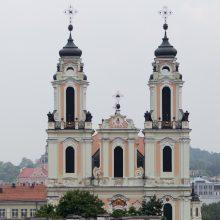 Pasirašyta Vilniaus Šv. Kotrynos bažnyčios fasado remonto darbų sutartis