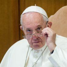 Popiežius Pranciškus ragina dialogo keliu užbaigti smurto proveržį Čilėje