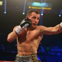 Gruodį boksininkas E. Kavaliauskas kovos su T. Crawfordu dėl pasaulio čempiono diržo