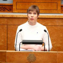 Estijos prezidentė: nepamirškime – Krymas vis dar okupuotas
