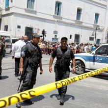 Tunise tuo pat metu susisprogdino du mirtininkai: yra žuvusiųjų