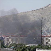 Afganistano sostinėje smarkus sprogimas: sužeista per 100 žmonių