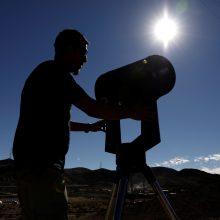 Čilė ir Argentina rengiasi įspūdingam Saulės užtemimui
