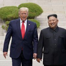 Šiaurės Korėja ir JAV ketina atnaujinti darbines derybas