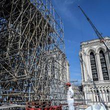 Paryžiaus Dievo Motinos katedrai vis dar kyla grėsmė sugriūti