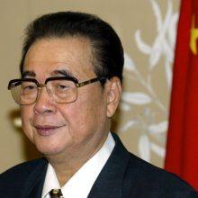 Mirė buvęs Kinijos premjeras Li Pengas