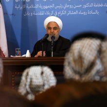 Iranas ragina JAV atšaukti sankcijas