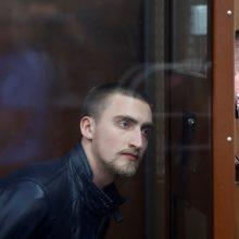 Rusijos įžymybės reiškia paramą kalinamam aktoriui