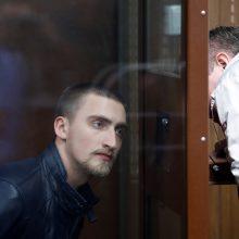 Maskvos teismas nurodė paleisti į laisvę aktorių P. Ustinovą