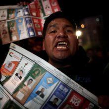 Bolivijoje skaičiuojant prezidento rinkimų balsus prasiveržė smurtas