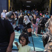 Nelaimė Egėjo jūroje: susidūrė Graikijos pasieniečių ir migrantų laivai