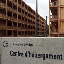 Vyras padegė save prie JT pabėgėlių reikalų valdybos Ženevoje