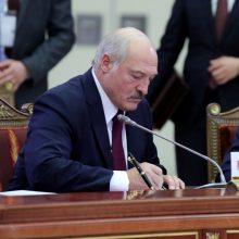A. Lukašenka paskyrė naujus Gynybos ministerijos ir Generalinio štabo vadovus