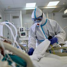 Bendras Rusijoje patvirtintų COVID-19 atvejų skaičius viršijo 700 tūkst.