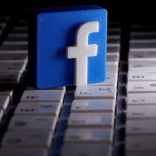 """""""Facebook"""": per JAV prezidento rinkimus bus blokuojama užsienio žiniasklaidos reklama"""