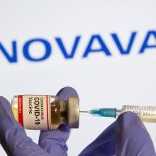 """""""Novavax"""" atideda paraiškos pildymą vakcinos patvirtinimui gauti"""