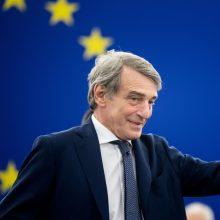 EP vadovas žada paramą Lietuvai stiprinant sienos su Baltarusija saugumą