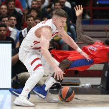 Krepšininko A. Gudaičio komanda Italijoje patyrė nesėkmę