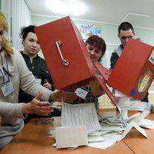 Rinkimai Baltarusijoje parodė pagarbos demokratijai stygių?