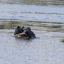 Nelaimė Švenčionių rajone: iš tvenkinio ištrauktas skenduolis