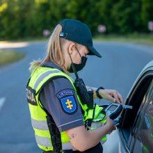 Savaitė Klaipėdos apskrities keliuose: įkliuvo septyni girti vairuotojai ir trys dviratininkai