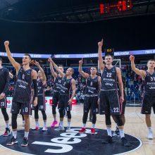 """""""Ryto"""" ir """"Partizan NIS"""" rungtynėse – """"Pistons"""" žvalgai ir dovana baltarusiui"""