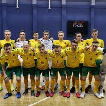 Pasaulio salės futbolo čempionatą rengs trys Lietuvos miestai