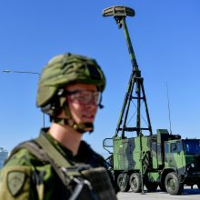 Švedija rūpinasi saugumu: Gotlande dislokavo naują oro erdvės gynybos sistemą