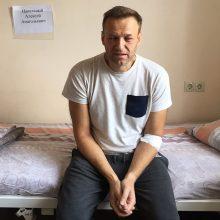 Rusijos gydytojai A. Navalno organizme nuodų neaptiko