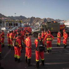 Kanarų salų prezidentas pasidalijo gera žinia: gaisras Gran Kanarijoje mažėja